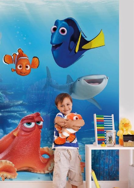 Finding Dory Disney wall mural wallpaper